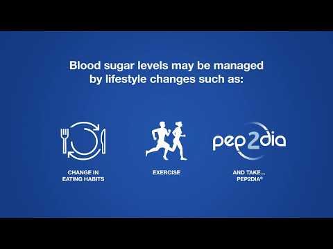 Pep2Dia for blood sugar management